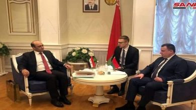Photo of Syria, Belarus discuss bolstering economic and trade cooperation relations
