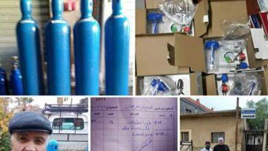 Photo of توزيع ١١ أسطوانة اوكسجين كبيرة كهدية لكل من عرمان والقريا وشهبا