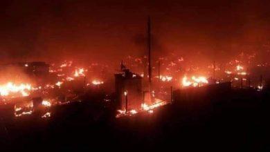 "Photo of ""عنصرية لبنان"" تتجدد بإحراق مخيم المنية ""للاجئين السوريين"""