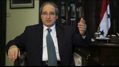 Photo of المقداد يتحدث عن الانتخابات الرئاسية السورية المقبلة وعمل اللجنة الدستورية
