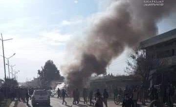 Photo of انفجار سيارة مفخخة بمدينة رأس العين