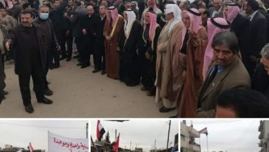 Photo of Locals of Hasaka and Qamishli organize two protests in their cities