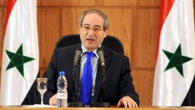 Photo of الاتحاد الأوروبي يفرض عقوبات على وزير الخارجية السوري فيصل المقداد