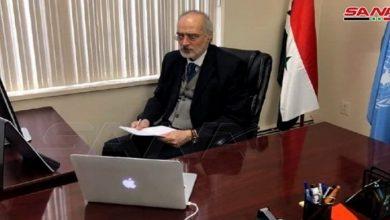 Photo of د. الجعفري: الغرب يواصل الضغط على منظمة حظر الأسلحة لتسيس عملها