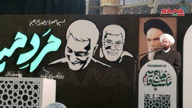 Photo of بذكرى استشهاد القادة.. المفتي حسون من طهران: النصر آتِ بدم الشهداء