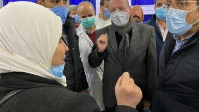 Photo of وزير الصحة الغباش بجولة تفقدية على عدد من المشافي