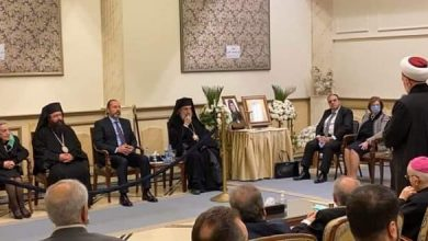 Photo of Minister Azzam offers condolence over demise of Patriarch Luka al-Khoury