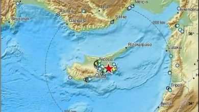 Photo of Earthquake of 5,1 on Richter scale hits Cyprus