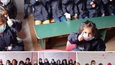 Photo of حملة كلنا أهل تصل إلى قرية صما البردان بريف السويداء