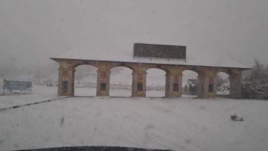 Photo of الثلوج على جبل الشيخ (فيديو)