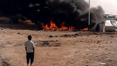 "Photo of وفاة وإصابة نحو 30 شخصاً بحريق اندلع بـ ""مخيم الهول"" جنوب الحسكة"