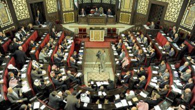 "Photo of ""فضيحة"" تحت قبة البرلمان السوري"