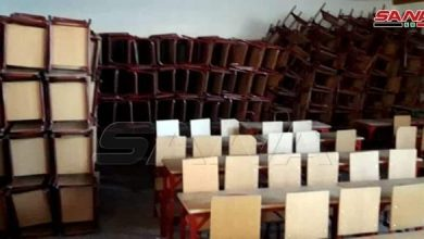 Photo of Hasaka Education receives 1245 desks from UNICEF