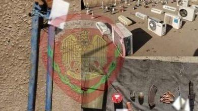 """Photo of ضبط """"مستودع تعفيش"""" بدير الزور"""