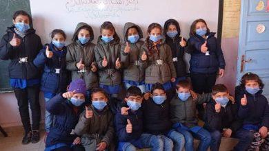 Photo of حملة كلنا أهل توزيع 359 معطفا شتويا على أطفال وطلاب قريتي ولغا و الخرسا