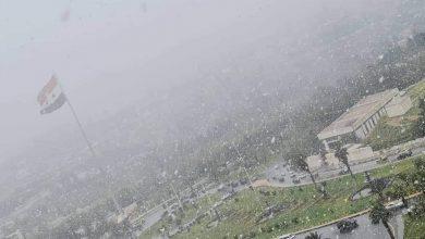 "Photo of ""دمشق"".. الأشد برودة وحرارة تحت الصفر حتى الفجر"