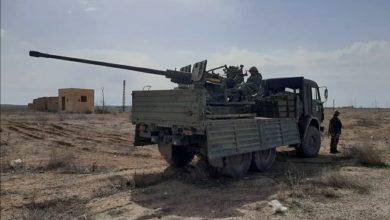 """Photo of الجيش السوري يؤمن الطريق السريع """"دير الزور- تدمر"""""""