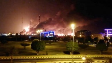 """Photo of قصف قاعدة """"الملك خالد و شركة أرامكو السعودية"""" بصورايخ يمنية"""
