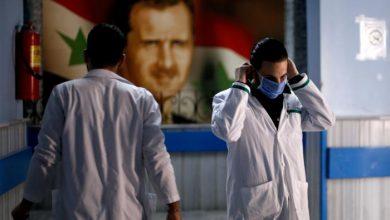 Photo of سوريا.. 70 إصابة جديدة و 6 وفيات بفيروس كورونا