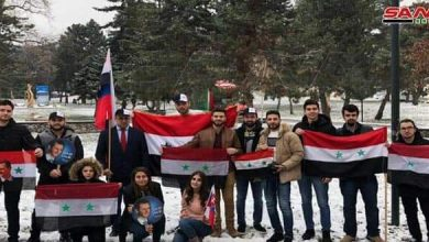Photo of Syrian students in Slovakia renew standing by their homeland in face of terrorism