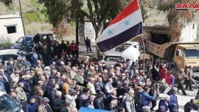 Photo of Locals return to their liberated areas in Lattakia northern countryside after securing service needs