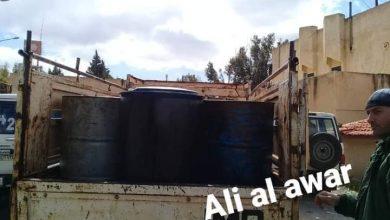 Photo of مصادرة ألفي ليتر مازوت معدة لتهريب في السويداء