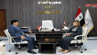 Photo of Syria, Iraq discuss means to enhance bilateral relations