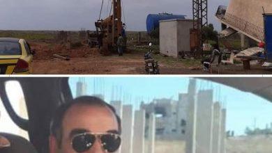 Photo of البدء بحفر بئر مياه في الصورة الكبيرة بمحافظة السويداء