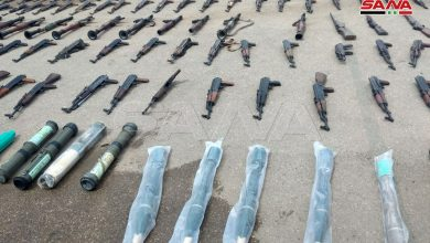Photo of ضبط كميات كبيرة من «الاسلحة الامريكية» في درعا