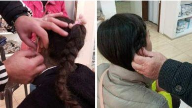 Photo of حملة كلنا أهل تقدم سماعات طبية لطفلتين في السويداء