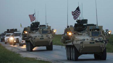 Photo of الاحتلال الأمريكي يدخل قافلة محملة بأسلحة والذخائر الى قواعده في الشدادي