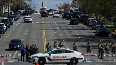 Photo of مقتل شرطي في هجوم بمحيط مقر الكونغرس الأمريكي