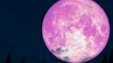 Photo of القمر الوردي العملاق في ضيافة سوريا لأربعة أيام