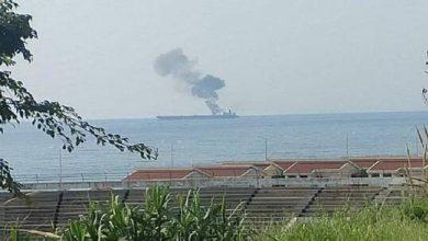 Photo of قناة إيرانية: ناقلة النفط في بانياس السورية استهدفت بصاروخين