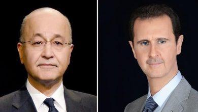 Photo of الأسد: نسأل الله أن يحفظ العراق وشعبه
