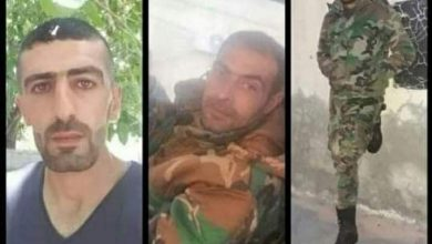 Photo of ارتقاء ثلاثة شهداء من فرع الأمن السياسي بكمين غادر بريف درعا