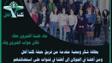 Photo of حملة كلنا أهل تختتم برنامج دورة التقوية المجانية لطلاب البكالوريا في قنوات