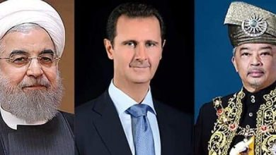Photo of President al-Assad receives cables of congratulation from Iranian President and Malaysian King on Evacuation day