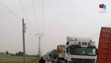 Photo of An explosive device exploded during the passage of a convoy of trucks in Deir Ezzor countryside
