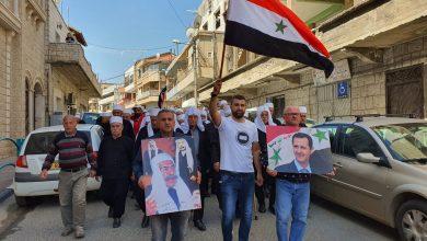 Photo of الآن – أهلنا بالجولان السوري المحتل يحيون الذكرى 75 لجلاء المحتل الفرنسي (صور)