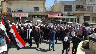 Photo of Occupied Syrian Golan people commemorate the 75th anniversary of the evacuation (photos)