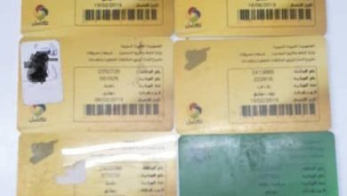 Photo of بدمشق.. ضبط سائق بحوزته عشر بطاقات لتعبئة البنزين!