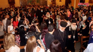 Photo of President al-Assad congratulates Christian denominations that follow Eastern calendar on Easter