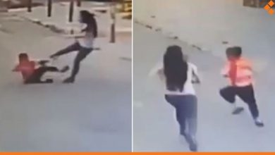 "Photo of مدرّسة لبنانية تعتدي بالضرب الوحشي على طفل سوري ""فيديو"""