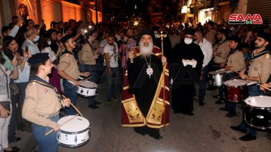Photo of Christian denominations in Syria that follow Eastern calendar celebrate Easter