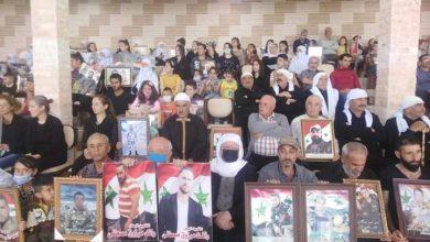 Photo of بذكرى عيد الشهداء تكريم أسر الشهداء في بلدة حضر