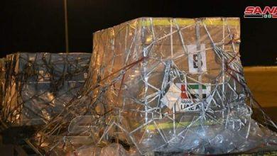 Photo of Emirati medical aid plane arrives in Damascus to help fight cor*onavirus
