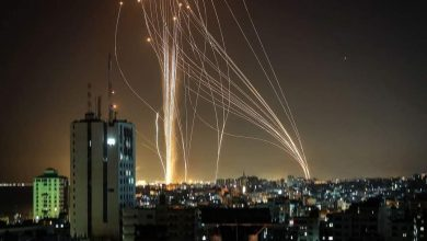 Photo of Palestinian resis*tance targets Isra*eli occupation settlements with missiles