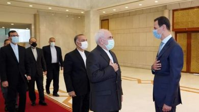 Photo of الرئيس الأسد يستقبل محمد جواد ظريف وزير الخارجية الإيراني والوفد المرافق له