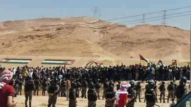 Photo of بالصور – الأردن ينتفض لفلسطين.. ومظاهرات قرب الحدود